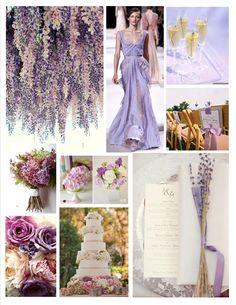 Lavender Wedding color palette inspiration