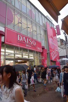 Put DAISO Tokyo 100 yen store in Harajuku top of your Harajuku shopping bucket list. Harajuku Shopping, Tokyo Shopping, Tokyo Trip, Japan Trip, Japanese Shop, Japanese Travel, Japanese Geisha, Japanese Kimono, Viajes