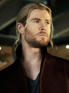 Thor. Oh, what a hunk....