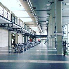 A jeszcze tydzień temu było tu tak gwarno. Wyludniony budynek Wydziału Filologicznego.Sesja ma się ku końcowi :) via Instagram