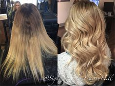 Janyra brightened this blonde beauty with a full highlight and shiny glaze Full Highlights, Cherry Hill, Blonde Beauty, Updos, Glaze, Extensions, Salons, Hair Color, Spaces