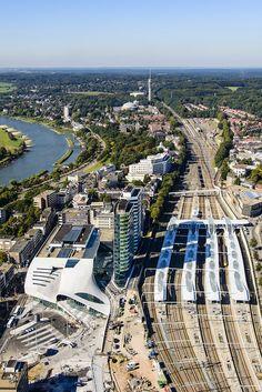 We spraken de architect van het nieuwe Arnhem CS dat vandaag na 19 jaar geopend wordt | The Creators Project