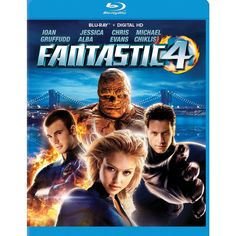Fantastic Four on Blu-ray from Century Fox. Directed by Tim Story. Staring Chris Evans, Julian McMahon, Kerry Washington and Jessica Alba. More Action, Based On Comic Book and Science Fiction DVDs available @ DVD Empire. Julian Mcmahon, Streaming Hd, Streaming Movies, Chris Evans, Fantastic Four 2005, Cyborg Movie, Tim Story, Michael Chiklis, Ioan Gruffudd