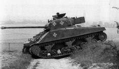 Captured Sherman firefly