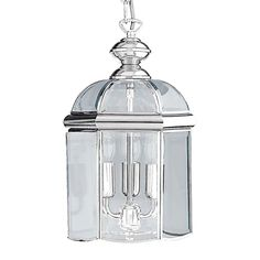 Searchlight Woburn 3 Light Ceiling Pendant - Polished Chrome