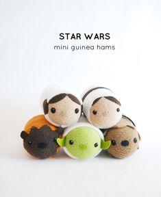 Star Wars Mini Guinea Hams // wild olive