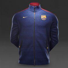 Nike FC Barcelona N98 Tech Track Jacket - Obsidian Heather 6e0d35293