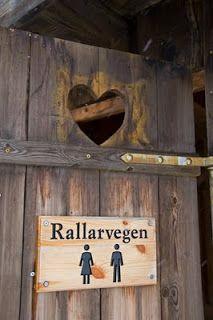 Utedo | Høyfjellstoallett langs Rallarvegen på Hardangervidden. Den ser ikke ...