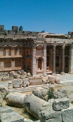 Roman temple, Baalbek, Lebanon