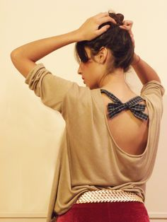 #lookbook #AW #2014 #otoño #invierno #winter #LV #LasVaskas #moda #ropa #fashion #fashionista #oxford #terciopelo #sweaterParis #espalda #moño #ootd
