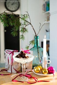 Julegavetips: godteri i egendesignet gavepapir