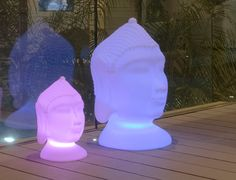GOA It is a lamp resembling Buddha's head. It is one of our top sellers of the ZEN range of garden products in the Newgarden collection. Its realistic design conveys peace and serenity to your home or garden. Buddha, Pool Plants, Goa, Decoration, Floor Lamp, Sculpture, Statue, Collection, Garden Products