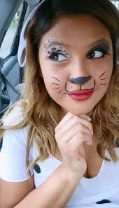 Image result for dalmation face makeup