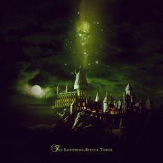 Imagem de dark mark, harry potter, and hogwarts