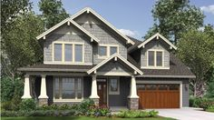 Craftsman 3 bedroom - HOMEPW76530 floor plan