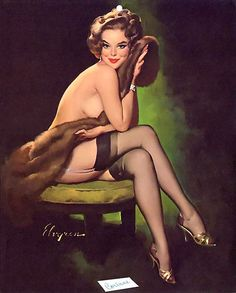 """""""Corinne"""" 1960s (Gil Elvgren)"""