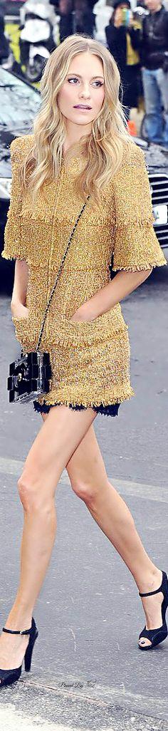 Style In The City ● Poppy Delevingne in Chanel Resort 2015
