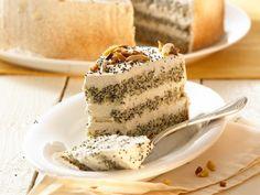 Mohn-Mandel-Torte ist ein Rezept mit frischen Zutaten aus der Kategorie Sahnetorte. Probieren Sie dieses und weitere Rezepte von EAT SMARTER!