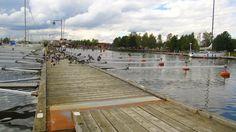 Small river port, Nyköping, Sweden