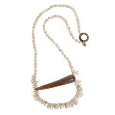 Necklace  |  Howlite & bone  #necklace #jewels #howlite #bone Silver Necklaces, Silver Earrings, Jasper, Bones, January, Handmade Jewelry, White Gold, Pendants, Rose Gold