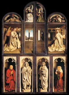 Charles Fonseca: A Adoração do Cordeiro Místico (The Ghent Altarpie...