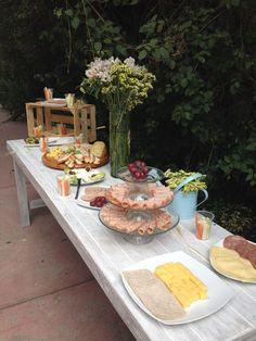 1000 images about barra quesos y carnes frias on - Mesa de quesos para bodas ...