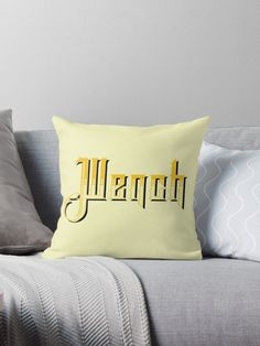 'Wench, Birmingham, Black Country Slang' Throw Pillow by Dialectees Floor Pillows, Throw Pillows, Birmingham, Ireland, Germany, Cushions, Couch, Humor, Country