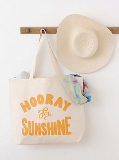 * Hooray for sunshine