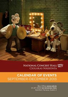 The National Concert Hall Calendar of Events September - December 2013 December 2013, Concert Hall, Event Calendar, Create Your Own, Ireland, Events, Digital, Irish