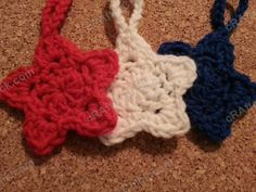 3 Star Shaped Face Scrubbies with Strap Crochet Pattern (3)