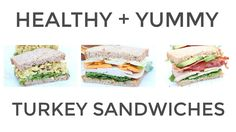Enjoy your Thanksgiving Turkey leftovers with one of these three easy sandwich ideas! Curried Turkey Sandwich, Classic Turkey Club, + Turkey Apple + Cheddar ...