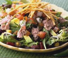 Acapulco Chopped Tuna Salad | #chickenofthesea #tuna #choppedsalad #mexican