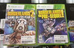 Borderlands 2 GOTY Edition & Borderland The Pre-Sequel! (Microsoft Xbox 360)