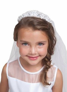 Industries Needs — Girls – Accessories- First Communion Veils