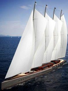 Dream Symphony: lo yacht a vela più grande del mondo