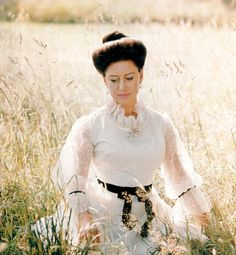 This portrait study of Princess Margaret was taken by her husband the Earl of Snowdon in the grounds of Kensington Palace in September 1969 ahead of their visit to Japan