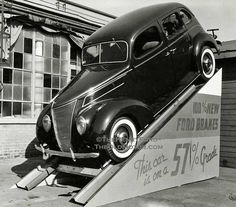 '37 Ford - Ford promotional display