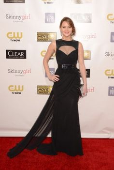 O estilo de Jennifer Lawrence | De Prabal Gurung, no Critic's Choice Awards.  foto: Getty