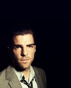 Zachary Quinto, Actor- interesting and unique facial structure