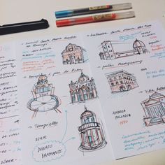 My history notes don't look half as pretty. | Community Post: 18 Borderline Orgasmic Study Notes You'll Fall In Love With