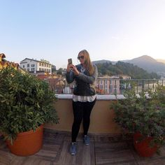 Sometimes solo travel isn't all it's cracked up to be and it can get lonely! Thanks to @bungeegirl a new app for female solo travelers I was able to message with like minded travel-lovers from my hometown of NYC while hanging out on a rooftop in Lake Como Italy. Expanding to Italy soon where I'll be able to connect with locals on my travels as well! Connecting fellow female travelers with locals or other travelers to give us insider tips and increase safety abroad? #BungeeGirl gets it! Go…