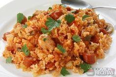 Receita de Risoto simples de frango em receitas de arroz, veja essa e outras receitas aqui!