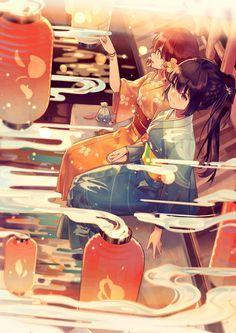 anime style artwork+