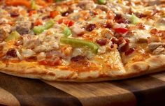 Grilled Pizza with Pork and Veggies - Grill Recipes
