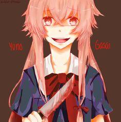 Yuno Gasai | Mirai Nikki wallpaper in The Horror Anime/Manga Club