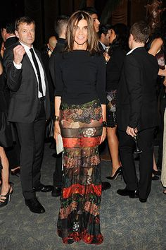 Fashion Week Edition: Carine Roitfeld in Givenchy