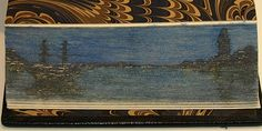 Full Leather Binding with Hidden Fore-Edge Painting | Flickr - Photo Sharing!