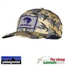 Gorra de pesca Patagonia. Fly Shop Salmon 2000 82480e9105f9