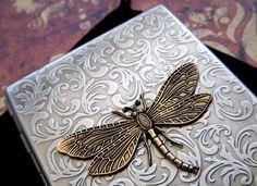 Cigarette Case Dragonfly