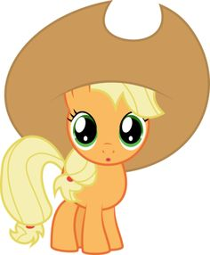 My little pony baby applejack - photo#26